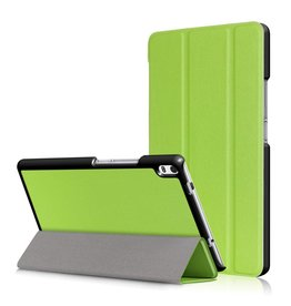 3-Vouw stand flip hoes Lenovo Tab 4 8 Plus groen
