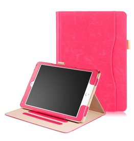 Lunso Luxe stand flip hoes iPad Pro 10.5 inch / Air (2019) 10.5 inch roze