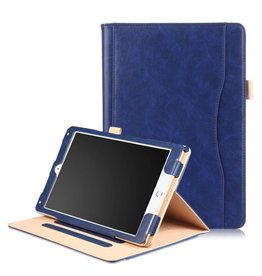 Lunso Luxe stand flip hoes iPad Pro 10.5 inch / Air (2019) 10.5 inch blauw