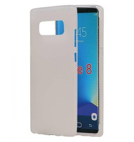 Softcase hoes Samsung Galaxy Note 8 wit
