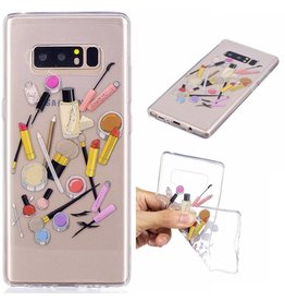 Softcase hoes cosmetica Samsung Galaxy Note 8
