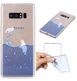 Softcase hoes noordpool Samsung Galaxy Note 8