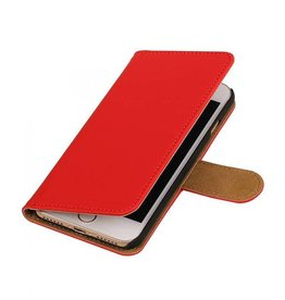 Bookwallet hoes iPhone 7 / 8 / SE (2020) rood