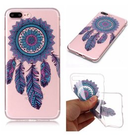 Softcase dromenvanger hoes iPhone 7 Plus / 8 Plus