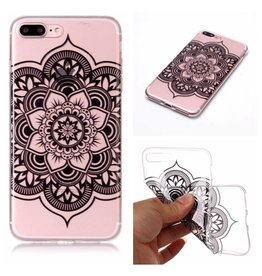 Softcase henna lotus hoes iPhone 7 Plus / 8 Plus