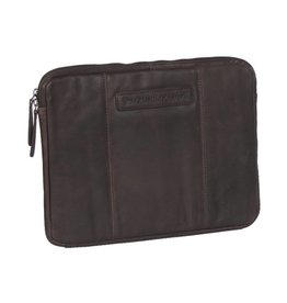 Chesterfield Chesterfield Ray lederen laptop sleeve hoes 13 inch bruin