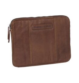 Chesterfield Chesterfield Ray lederen laptop sleeve hoes 13 inch cognac