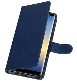 Bookwallet hoes - Samsung Galaxy Note 8 - blauw