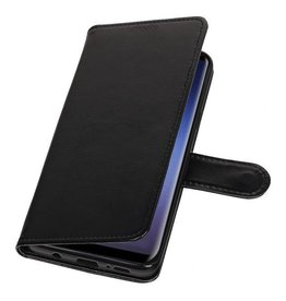 Bookwallet hoes - Samsung Galaxy S9 Plus - zwart