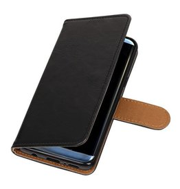 Bookwallet lederlook hoes - Samsung Galaxy S9 - zwart