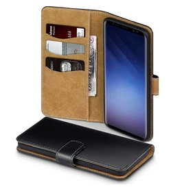 Qubits Qubits - wallet hoes - Samsung Galaxy S9 Plus - TAN zwart