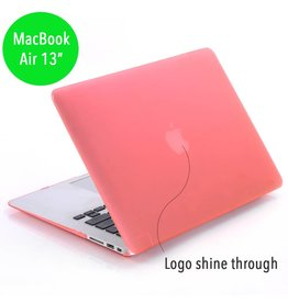 Lunso Lunso - hardcase hoes - MacBook Air 13 inch (2010-2017) - mat lichtroze