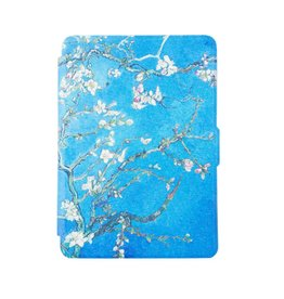 Lunso Lunso - sleepcover flip hoes - Kindle Paperwhite 1 / 2 / 3 - Van Gogh amandelboom