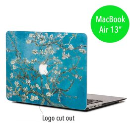 Lunso Lunso - hardcase hoes - MacBook Air 13 inch - Van Gogh amandelboom