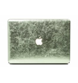 Lunso Lunso - cover hoes - MacBook Air 13 inch - shiny leer groen