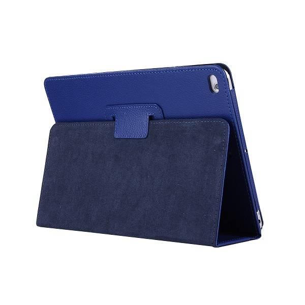 Lunso Stand flip sleepcover hoes blauw voor de iPad 9.7 (2017/2018), iPad Pro 9.7, iPad Air en iPad Air 2