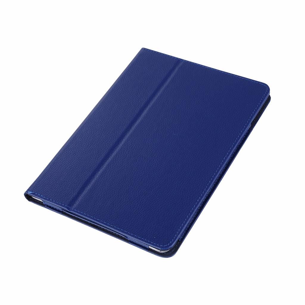 Stand flip sleepcover hoes blauw voor de iPad 9.7 (2017/2018), iPad Pro 9.7, iPad Air en iPad Air 2