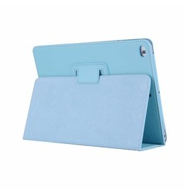 Lunso Stand flip sleepcover hoes - iPad 9.7 (2017/2018) / Pro 9.7 / Air / Air 2 - lichtblauw