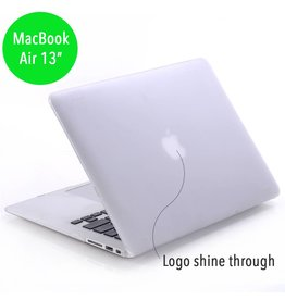 Lunso Lunso - hardcase hoes - MacBook Air 13 inch - mat transparant