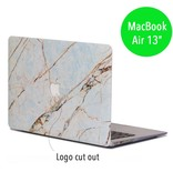 Lunso Lunso Marble Everly cover hoes voor de MacBook Air 13 inch (2010-2017)