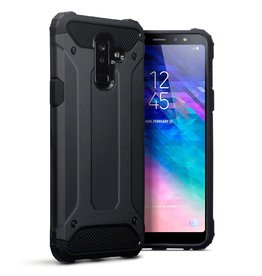 Qubits Qubits - Armor Guard hoes - Samsung Galaxy A6 Plus 2018 - zwart