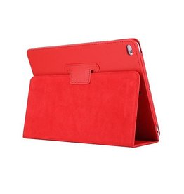 Lunso Stand flip sleepcover hoes - iPad 9.7 (2017/2018) / Pro 9.7 / Air / Air 2 - rood