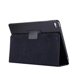 Lunso Stand flip sleepcover hoes - iPad 9.7 (2017/2018) / Pro 9.7 / Air / Air 2 - zwart