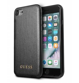 Guess Guess Iridescent - backcover hoes - iPhone 6(s) / 7 / 8 - zwart