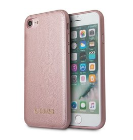 Guess Guess Iridescent - backcover hoes - iPhone 6(s) / 7 / 8 - roze/goud