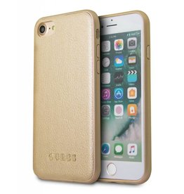 Guess Guess Iridescent - backcover hoes - iPhone 6(s) / 7 / 8 - goud
