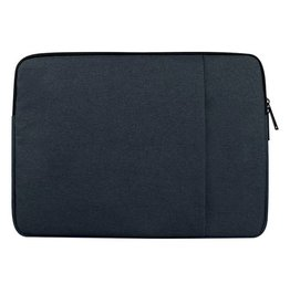 Stijlvolle zachte sleeve hoes 15 inch - donkerblauw