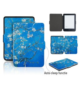Lunso Lunso - sleepcover flip hoes - Kobo Clara HD - Van Gogh amandelboom