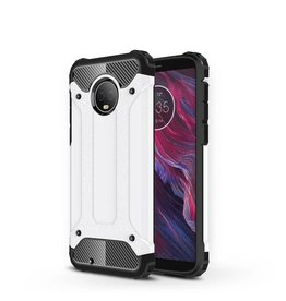 Lunso Lunso - Armor Guard hoes - Motorola Moto G6 - wit