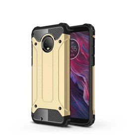Lunso Lunso - Armor Guard hoes - Motorola Moto G6 - goud