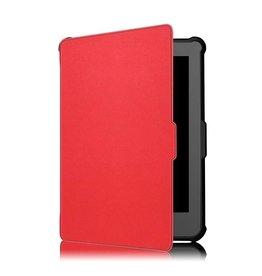 Lunso Lunso - sleepcover flip hoes - Kobo Clara HD - rood