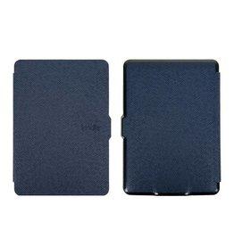 Sleepcover flip grid hoes Kindle Paperwhite 1 / 2 / 3 blauw