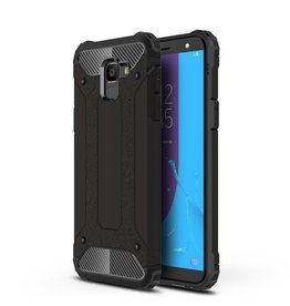 Lunso Lunso - Armor Guard hoes - Samsung Galaxy J6 2018 - zwart