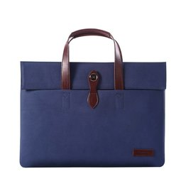 "Cartinoe - fashion laptoptas 13"" - donkerblauw"