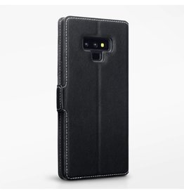 Qubits Qubits - slim wallet hoes - Samsung Galaxy Note 9  - zwart