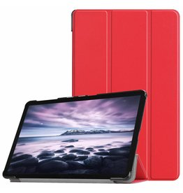 3-Vouw sleepcover hoes - Samsung Galaxy Tab A 10.5 inch - Rood