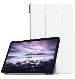 3-Vouw sleepcover hoes - Samsung Galaxy Tab A 10.5 inch - Wit