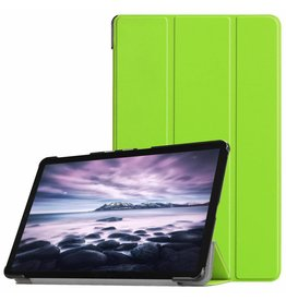 3-Vouw sleepcover hoes - Samsung Galaxy Tab A 10.5 inch  - Groen
