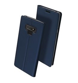 Dux Ducis pro serie - slim wallet hoes - Samsung Galaxy Note 9 - blauw