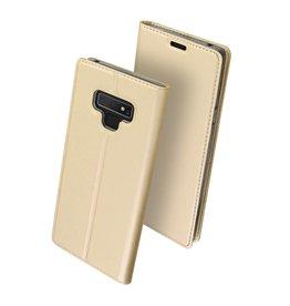 Dux Ducis Dux Ducis pro serie - slim wallet hoes - Samsung Galaxy Note 9 - goud