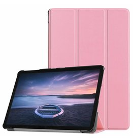 3-Vouw sleepcover hoes - Samsung Galaxy Tab S4 10.5 inch - roze