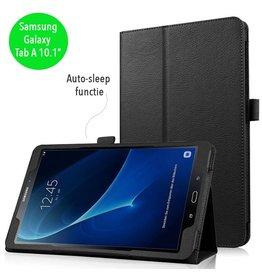 Stand flip sleepcover hoes - Samsung Galaxy Tab A 10.1 inch (2016) - zwart