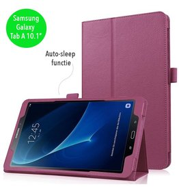 Stand flip sleepcover hoes - Samsung Galaxy Tab A 10.1 inch (2016) - paars