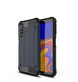 Lunso Lunso - Armor Guard hoes - Samsung Galaxy A7 2018 - blauw
