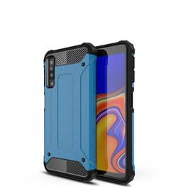 Lunso Lunso - Armor Guard hoes - Samsung Galaxy A7 2018 - lichtblauw