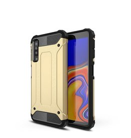 Lunso Lunso - Armor Guard hoes - Samsung Galaxy A7 2018 - goud